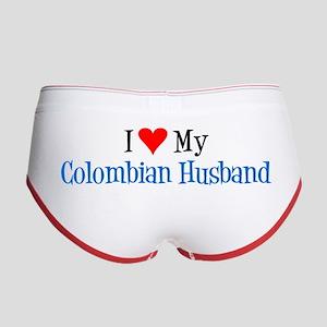 I Love My Colombian Husband Women's Boy Brief
