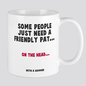 A friendly pat Mug