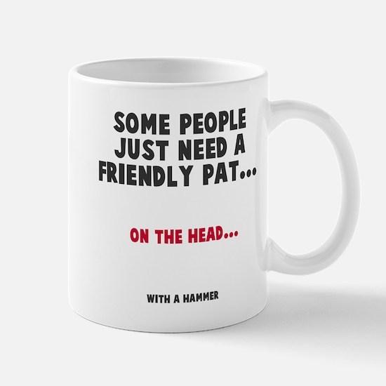 A friendly pat Mug