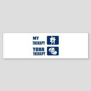 linedance Designs Sticker (Bumper)