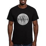 Monogram Fitted Dark T-Shirts