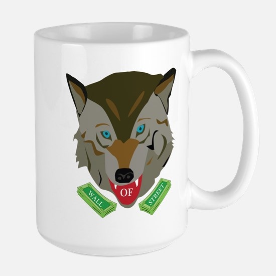 Ze Wolf of Wall Street Mugs