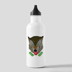 Ze Wolf of Wall Street Sports Water Bottle