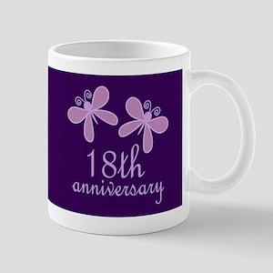 18th Anniversary Keepsake Mugs