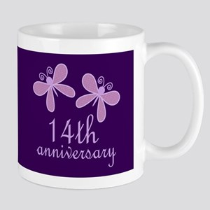 14th Anniversary Keepsake Mugs