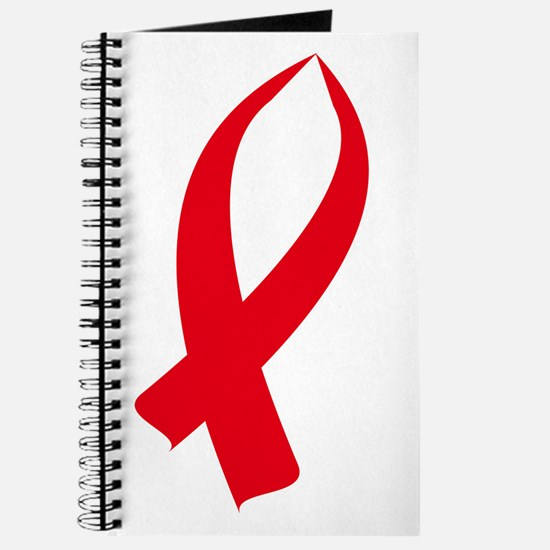 Awareness Ribbon (Red) Journal