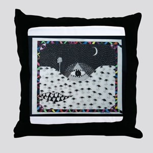 The All Seeing Throw Pillow