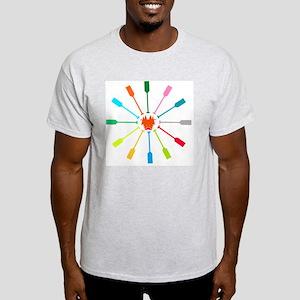 dragon like colorful paddle Light T-Shirt