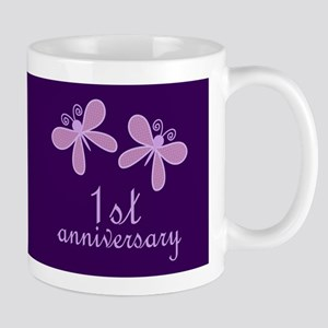 1st Anniversary Keepsake Mugs