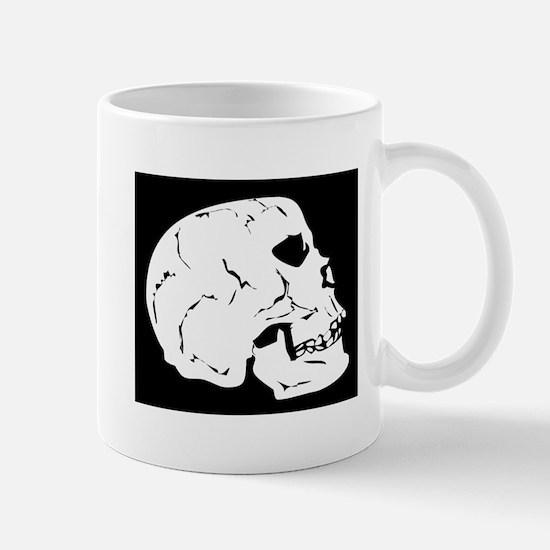 Side Skull X-Ray Mugs