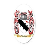 Eldridge Oval Car Magnet