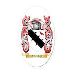 Eldredge Oval Car Magnet