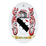 Eldredge Ornament (Oval)