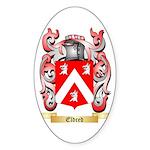 Eldred Sticker (Oval 50 pk)