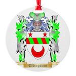 Eldingsoun Round Ornament
