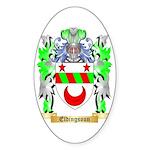 Eldingsoun Sticker (Oval 50 pk)
