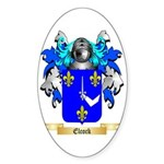 Elcock Sticker (Oval 50 pk)