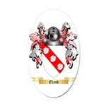 Eland Oval Car Magnet