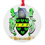 Eklund Round Ornament