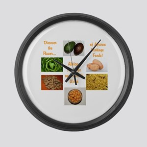 African Heritage and Health Week Large Wall Clock
