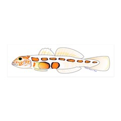 Orangesided Goby Wall Decal