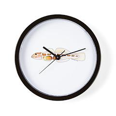 Orangesided Goby Wall Clock