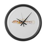 Orangesided Goby Large Wall Clock