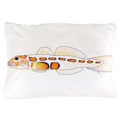 Orangesided Goby Pillow Case