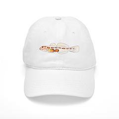 Orangesided Goby c Baseball Baseball Cap