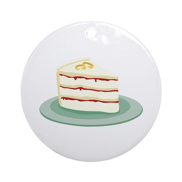 wedding cake slice wedding cake slice ornament by hopscotch4 24903