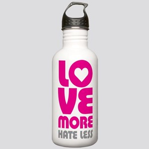 Love More Hate Less Stainless Water Bottle 1.0L