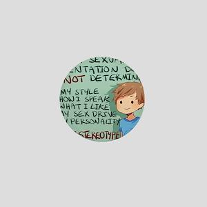 stereotype Mini Button