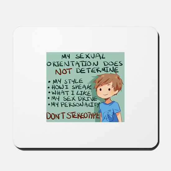 stereotype Mousepad
