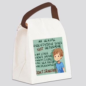 stereotype Canvas Lunch Bag