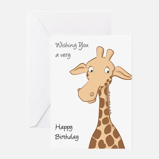Giraffe Quotes Funny: Funny Giraffe Greeting Cards