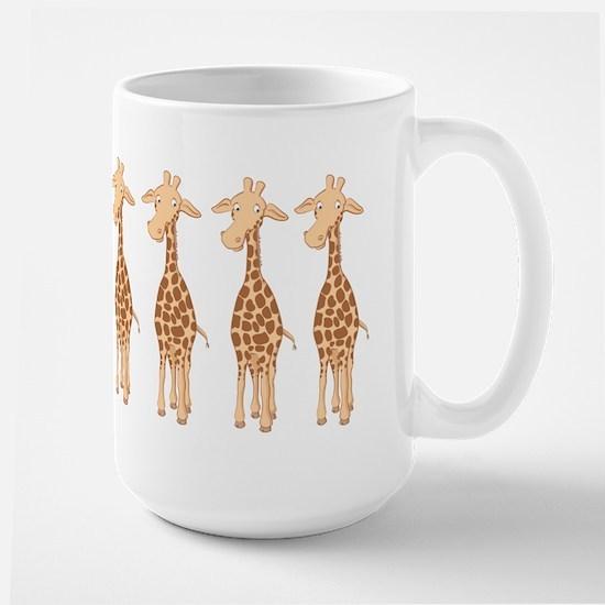 Cute Giraffe Large Mug