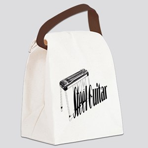 Simply Steel Guitar Canvas Lunch Bag