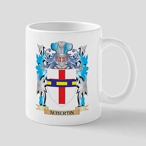 Aubertin Coat Of Arms Mugs