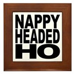 Nappy Headed Ho Original Design Framed Tile