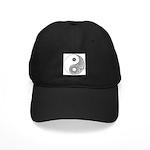 Celtic Yin & Yang Black Cap