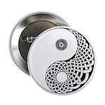 Celtic Yin & Yang Button