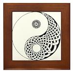 Celtic Yin & Yang Framed Tile