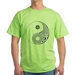 Celtic Yin & Yang Green T-Shirt