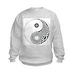 Celtic Yin & Yang Kids Sweatshirt