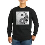 Celtic Yin & Yang Long Sleeve Dark T-Shirt
