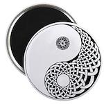 """Celtic Yin & Yang 2.25"""" Magnet (100 pack)"""