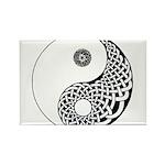 Celtic Yin & Yang Rectangle Magnet (100 pack)