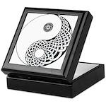 Celtic Yin & Yang Keepsake Box