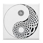 Celtic Yin & Yang Tile Coaster