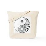 Celtic Yin & Yang Tote Bag